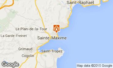 Carte Sainte Maxime Appartement 54692