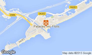 Carte Palavas-les-Flots Studio 91980