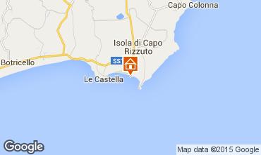 Carte Isola di Capo Rizzuto Appartement 54877