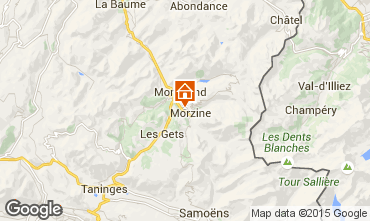 Carte Morzine Appartement 39340