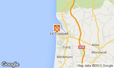 Carte Le Touquet Appartement 30752