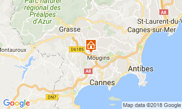 Carte Cannes Appartement 115251