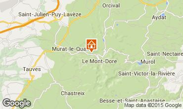 Carte Le Mont Dore Chalet 80189