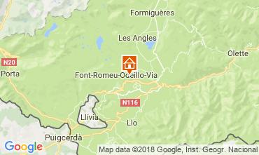Carte Font Romeu Appartement 3981