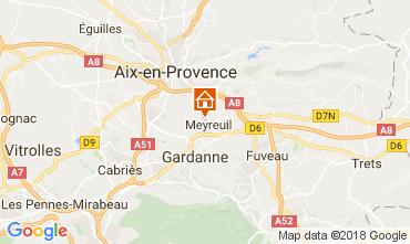 Carte Aix en Provence Maison 113292