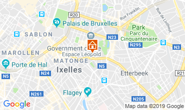 Carte Bruxelles Appartement 118001