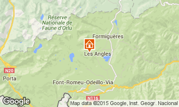 Carte Les Angles Chalet 14642