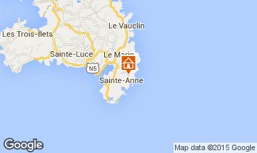 Carte Sainte Anne (Martinique) Villa 8120