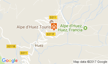 Carte Alpe d'Huez Appartement 112014