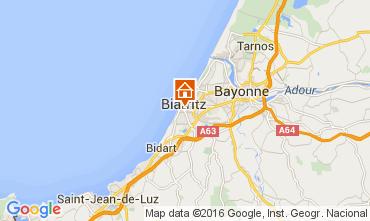 Carte Biarritz Studio 105462