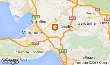 Carte Marseille Villa 74586