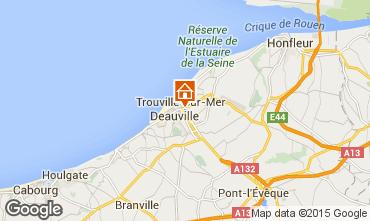 Carte Trouville sur Mer Studio 25063