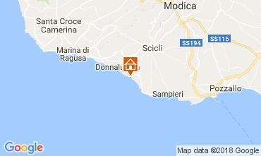 Carte Donnalucata Villa 112801