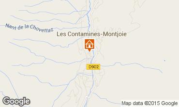 Carte Les Contamines Montjoie Chalet 930