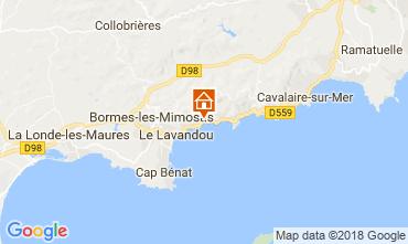Carte Le Lavandou Appartement 114733