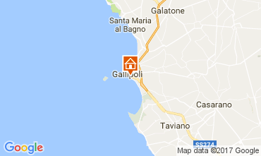 Carte Gallipoli Appartement 108071