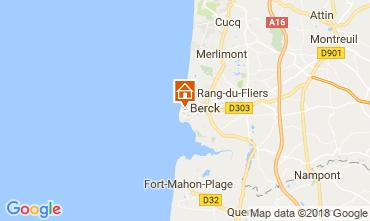 Carte Berck-Plage Appartement 114685