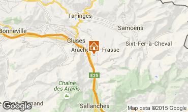 Carte Les Carroz d'Araches Studio 27715