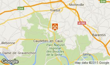 Carte Saint-Wandrille-Rançon Gite 96793
