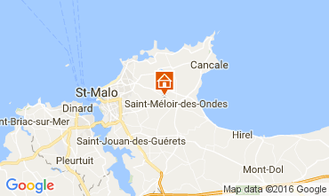 Carte Saint Malo Maison 106998