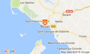 Carte Royan Villa 115541
