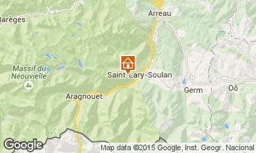 Carte Saint Lary Soulan Studio 4427