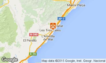 Carte La Ametlla de Mar Chalet 77819