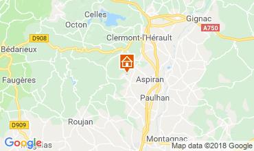 Carte Clermont l'Hérault Villa 103881