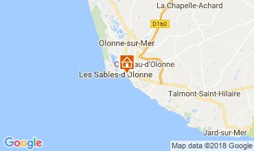 Carte Les  Sables d'Olonne Maison 113648