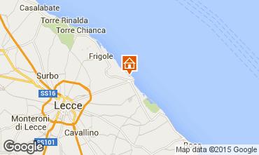 Carte Lecce Appartement 43917