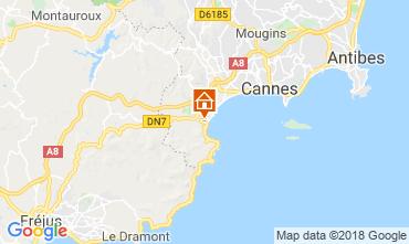 Carte Cannes Appartement 116694
