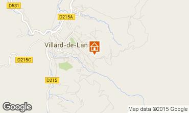 Carte Villard de Lans - Corren�on en Vercors Appartement 101393