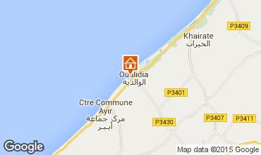 Carte Oualidia Villa 9728