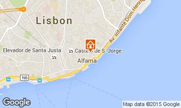 Carte Lisbonne Studio 23997