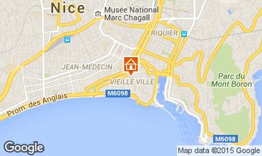 Carte Nice Appartement 77587