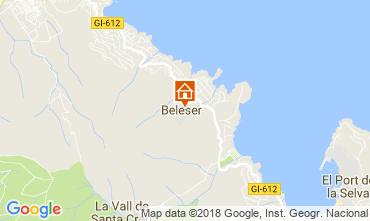 Carte El Port de la Selva Maison 113323