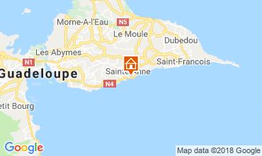 Carte Sainte Anne (Guadeloupe) Appartement 116656
