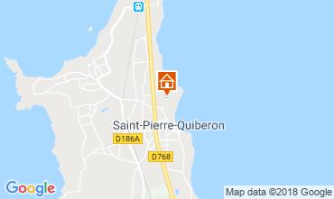 Carte Saint Pierre Quiberon Maison 117230