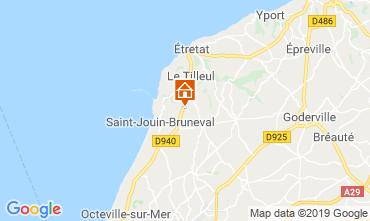 Carte Saint-Jouin-Bruneval Chambre d'hôte 119604