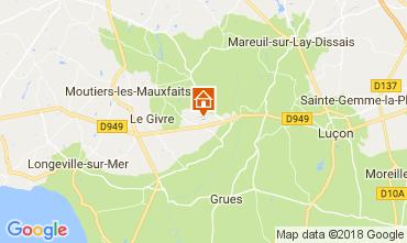Carte La Tranche-sur-mer Mobil-home 72501