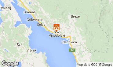 Carte Novi Vinodolski Maison 76429