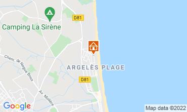 Carte Argeles sur Mer Appartement 93461