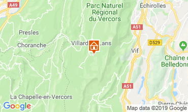 Carte Villard de Lans - Corrençon en Vercors Studio 68518
