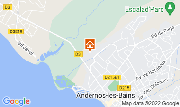 Carte Andernos les Bains Gite 81528