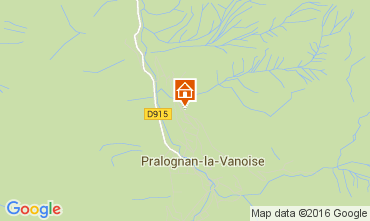 Carte Pralognan la Vanoise Appartement 103987