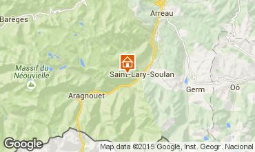 Carte Saint Lary Soulan Studio 4428
