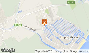 Carte Empuriabrava Appartement 75379