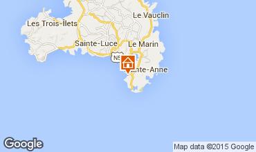 Carte Sainte Anne (Martinique) Appartement 101403