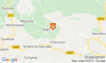 Carte Cotignac Villa 95613