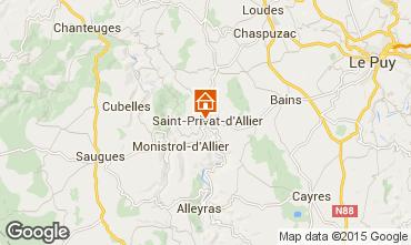Carte Le Puy en Velay Gite 94493